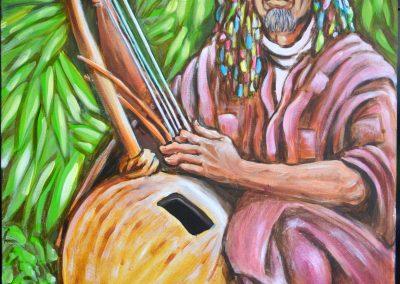 Musico Mali pintura