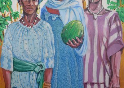 Tres mujeres malienses