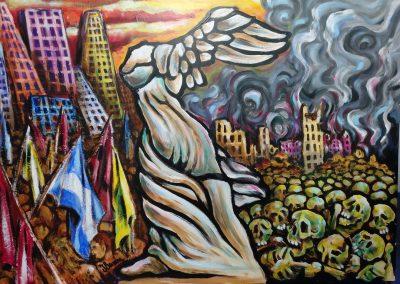 La libertad y su rastro de cadaveres