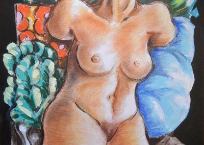 Mujer sin cabeza